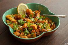 Gekruide gebakken aardappeltjes