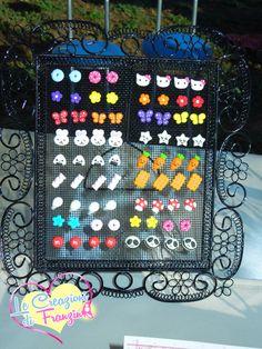 Alcuni degli orecchini in fimo che faccio! :) Per gli altri, cercatemi su Facebook! ;)