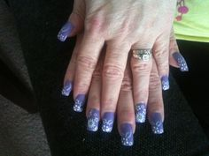My nails from angels nail and spa. 2/27/13