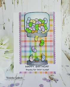 Crafting Love: Birthday..Bean Sweet!