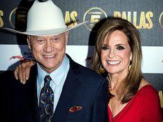 Larry Hagman Dies: Linda Gray Speaks About Dallas Costar : People.com