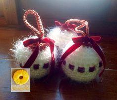 Guarda questo articolo nel mio negozio Etsy https://www.etsy.com/it/listing/247594803/tris-di-palline-natalizie-bianche