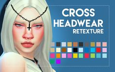 Cross Headwear Maxis Matched by Weepingsimmer at SimsWorkshop • Sims 4 Updates