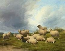 prices of thomas sidney cooper paintings - Yahoo Image Search Results Sheep Paintings, Sheep Art, Cow Painting, Canvas Prints, Art Prints, Old Master, Landscape Art, Modern Art, Art Pieces