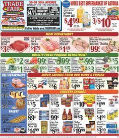 Trade Fair Supermarket Weekly Ad March 2 – 8, 2018 – Trade Fair Supermarket weekly circular appears almost each week but frequently people see the Trade Fair Supermarket ad and they're quick to throw it out. Checking the ads every week and clipping out of the coupons which come while in the weekly advertisements can really be a really rewarding experience. Trade Fair Supermarket regularly includes coupons which often can equate his almost as much as 50% off