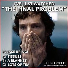 "Yep! Sherlock S04 EP03 ""The Final Problem"". Season 4. Episode 3."