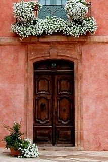 Roussillon Door, Provence