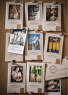 Michael Barley Photography business cards