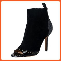 Salvatore Ferragamo Women's Leather High Heel Ankle Boots Shoes US 10 IT 40; - Boots for women (*Amazon Partner-Link)