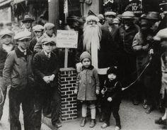 Boy on a leash (NYC 1920)