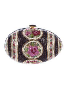 0535343ae Judith Leiber Crystal-Embellished Egg Minaudière Beaded Clutch, Beaded  Purses, Clutch Bags,