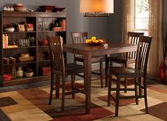 52nd Street 5 Pc. Counter Height Dining Set