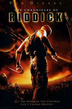 2004 Movies | The Chronicles of Riddick Movie Poster - 2004