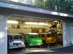 mini garage - i want one like this !!!