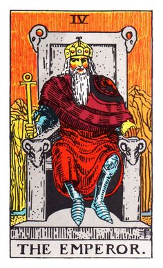 69546af2e9d4e Learn Tarot Card Meanings  the Emperor. Discover how this man of authority  informs your life + the astrology