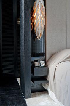 Kelly Hoppen for Yoo Ltd @ Barkli Virgin House, Moscow, Russia. | Bedroom | life1nmotion.tumblr.
