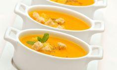 Aprende a preparar una rica salsa de acompañamiento a base de zanahoria y cebolla, de la mano de Karlos Arguiñano: Salsa Velouté.