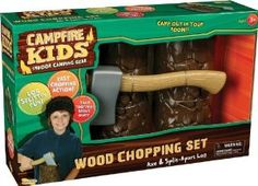 Amazon.com: Campfire Kids Wood Chopping Set: Toys & Games