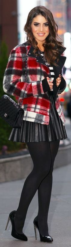 Look Do Dia : Xadrez E Listras #Winter