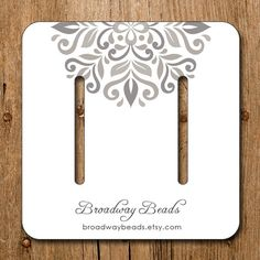 Custom Display Cards for Hair Accessories - Product Display Cards - Business Display - From Homegrown Creativity