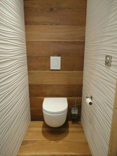 If you have a small bathroom in your home, don't be confuse to change to make it look larger. Not only small bathroom, but also the largest bathrooms have their problems and design flaws. Wc Bathroom, Bathroom Toilets, Bathroom Design Small, Laundry In Bathroom, Bathroom Layout, Bathroom Interior Design, Modern Bathroom, Bathroom Ideas, Bathroom Flooring
