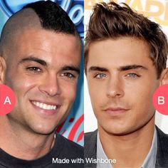 Mohawks or Fohawks? Click here to vote @ http://getwishboneapp.com/share/10720505