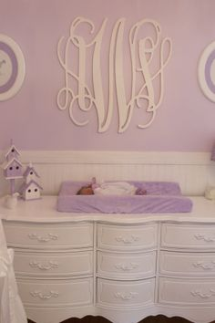 Averys 50 Shades of Purple Nursery, a pretty purple room lovingly created for our second daughter Avery Violet :), Nurseries Design