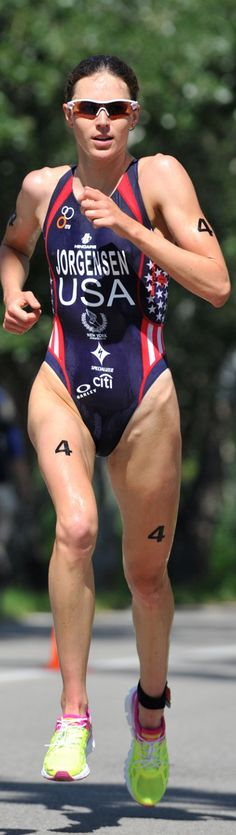 RIO OLYMPIC 2016 Gold Winner of the Triathlon Gwen Jorgensen (USA) from Wisconsin
