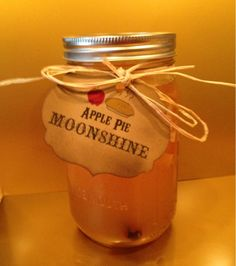 Apple Pie Moonshine Labels