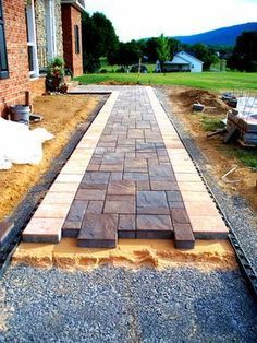 Quality Concrete and Masonry - Patios walkways and steps - Tavis Newman #drivewaylandscape