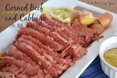Corned Beef and Cabbage {in the crockpot}