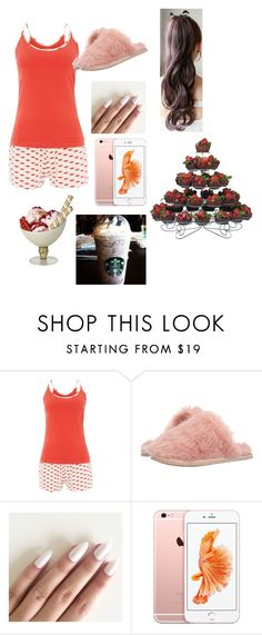 """look pyjama"" by emmasargero on Polyvore featuring Tommy Hilfiger, Ted Baker et Disney"