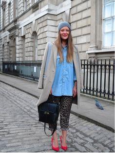 the blogger coat
