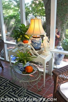Mary Carol Garrity's Home Tour @ CreatingThisLife.com  Nell Hill's Atchison Kansas