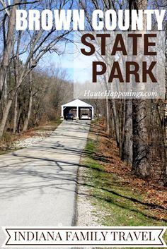 Cabins, Water Slides, Trails and More! Things to Do in Brown County State Park - Haute Happenings Vacation Places, Vacation Trips, Vacation Spots, Vacation Ideas, Vacations, Nashville Indiana, Indiana State, Weekend Trips, Day Trips