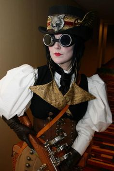Steampunk outfits on pinterest steampunk girl steampunk for Easy steampunk ideas