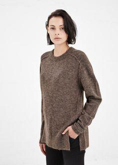 Isabel Marant Portia Sweater (Chestnut)