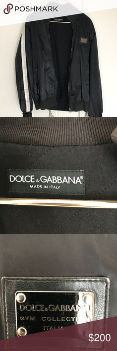 Dolce and Gabbana men's Jacket in size 54 L Used Dolce and Gabbana men's Jacket  It's a nice jacket to have in your closet size 54 (about a L) Dolce & Gabbana Jackets & Coats Bomber & Varsity