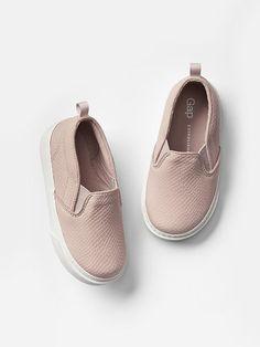 ♡ baby gap | textured slip-on sneakers