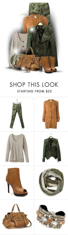 """""""Camo Calling"""" by rockreborn ❤ liked on Polyvore featuring Pull&Bear, Forte Forte, Pink Lotus, Two Lips, BP., Gérard Darel, Dorothy Perkins and Bee Charming"""