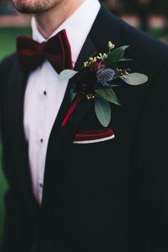 An Elegant Burgundy and Navy Fairytale Orlando Wedding ceremony Day Burgundy Wedding, Red Wedding, Wedding Groom, Wedding Attire, Wedding Colors, Navy Tux Wedding, Black Tuxedo Wedding, Wedding Ideas, Nautical Wedding
