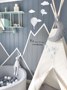 mountain wall decor nursery