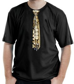 Camiseta Gravata Sax