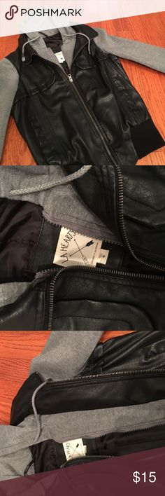 Pacsun leather jacket super cute and warm , too small for me PacSun Jackets & Coats