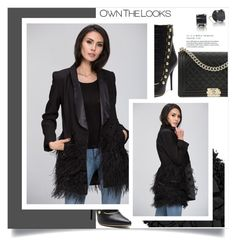 """""""OWN THE LOOKS 18/60"""" by amra-mak ❤ liked on Polyvore featuring Balmain, Urban Decay, Chanel and ownthelooks"""