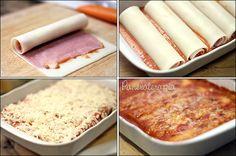 PANELATERAPIA - Blog de Culinária, Gastronomia e Receitas: Canelone com Massa de Lasanha