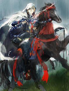 馬に乗ったうちの特攻隊長が描きたかった。