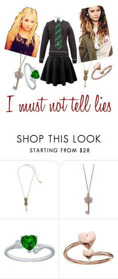 """""""I must not tell lies"""" by mrsnotsoperfect ❤ liked on Polyvore featuring Betsey Johnson, Vera Bradley and Alex and Ani"""