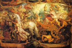 The Triumph of the Church by @artistrubens #baroque