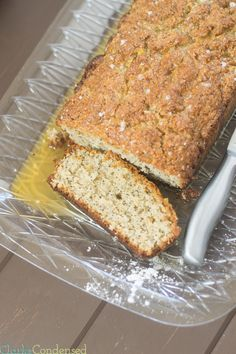 Lemon Poppyseed Bread is a great gluten free bread recipe that's easy to make. It has a bright lemon flavor that you can't help but love.